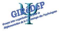 Résultats Consultation GIREDEP
